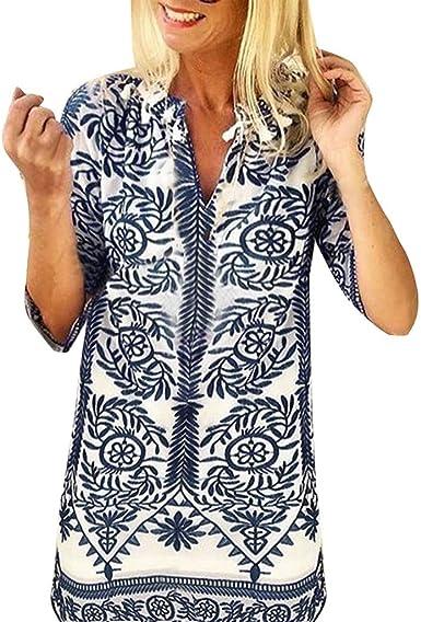 Poachers Camisas Mujer Manga Corta Tops Mujer Deporte Camisas Mujer Tallas Grandes Cuadros Blusas para Mujer Estampados Camisetas Mujer Verano Blusas Mujer de Vestir Fiesta Blusas Mujer Boda: Amazon.es: Ropa y accesorios