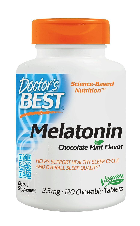 Doctors Best Melatonina, 2.5 Mg De Menta Y Chocolate - 120 ...
