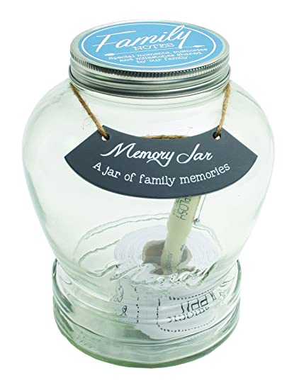 amazon com top shelf family memory jar unique and thoughtful gift