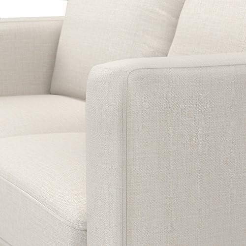 Amazon Brand Rivet Revolve Modern Upholstered Loveseat Sofa