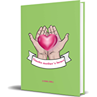 THANKS MOTHER'S HEART: Novelty gift for mother's day ,hand drawn hands with red heart cover,160pages notebook (6 x9) ,Soft cover – Februray 16, 2020 (English Edition)