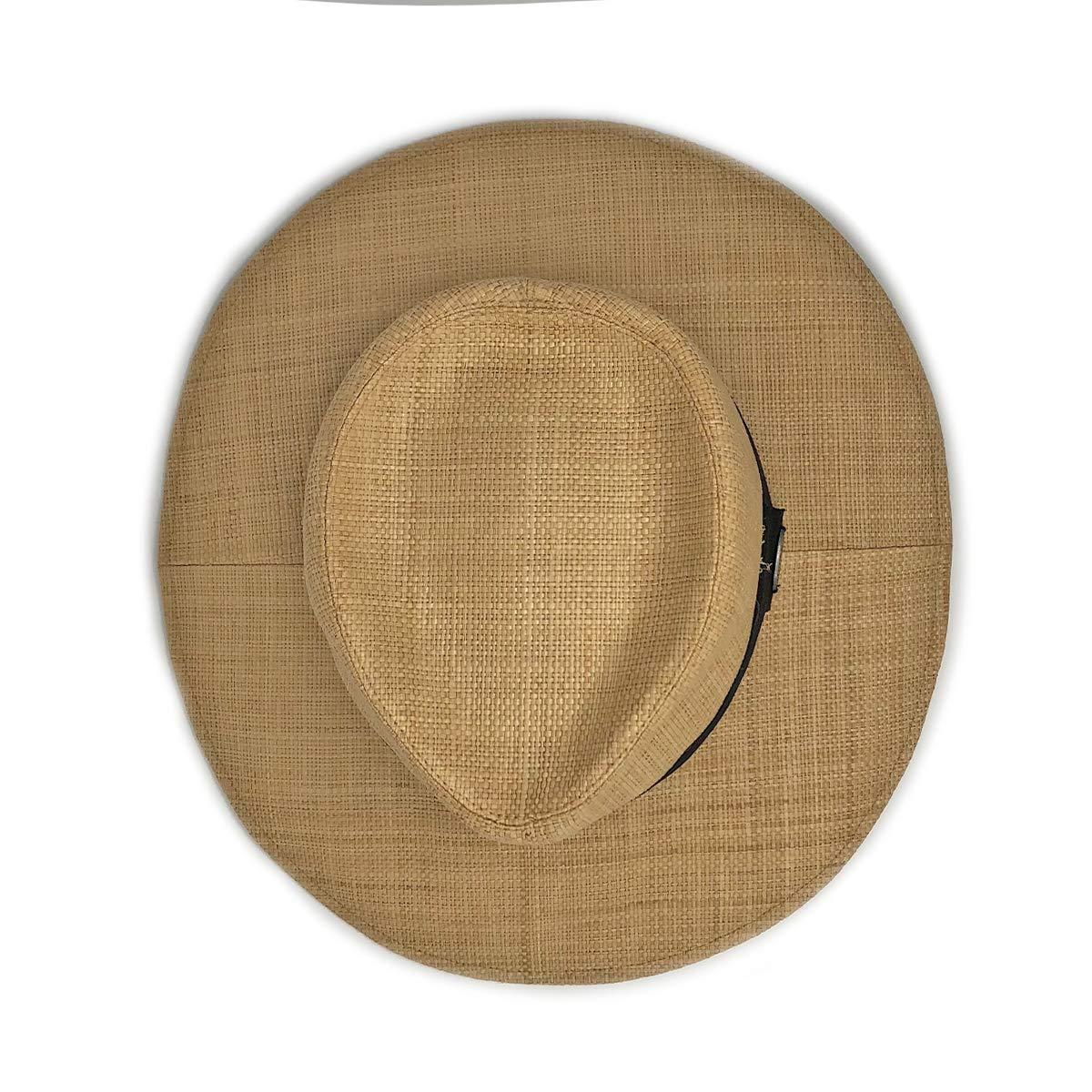 Wallaroo Hat Company Women's Morgan Fedora - Natural - UPF 50+, Modern Style by Wallaroo Hat Company (Image #3)