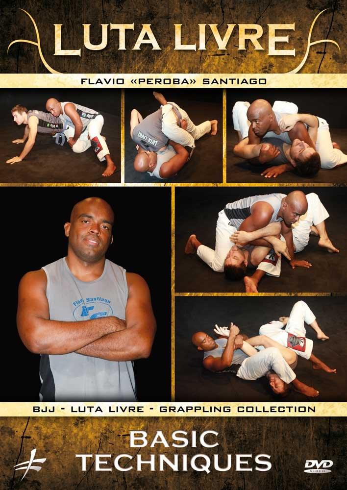 DVD : Luta Livre - Basic Techniques (DVD)