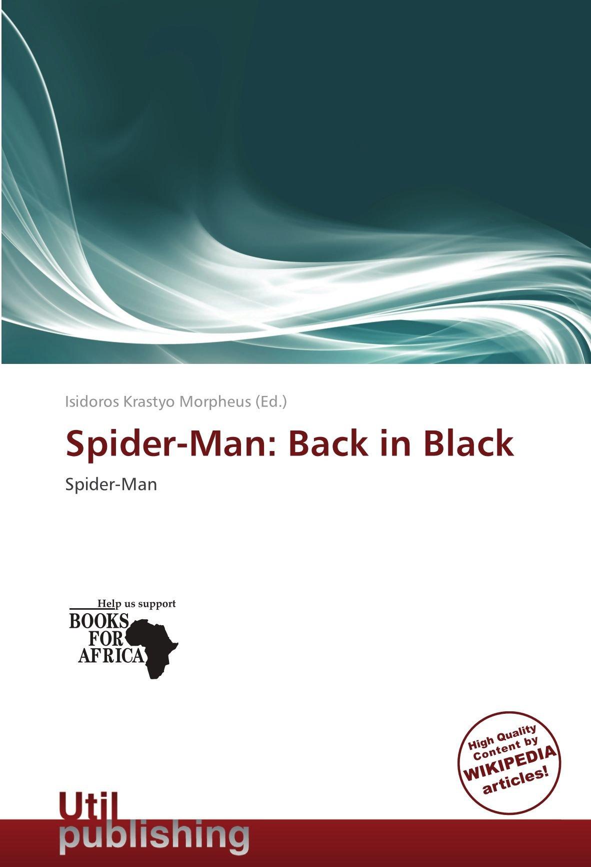 199777579 Spider-Man  Back in Black  Amazon.es  Isidoros Krastyo Morpheus  Libros en  idiomas extranjeros