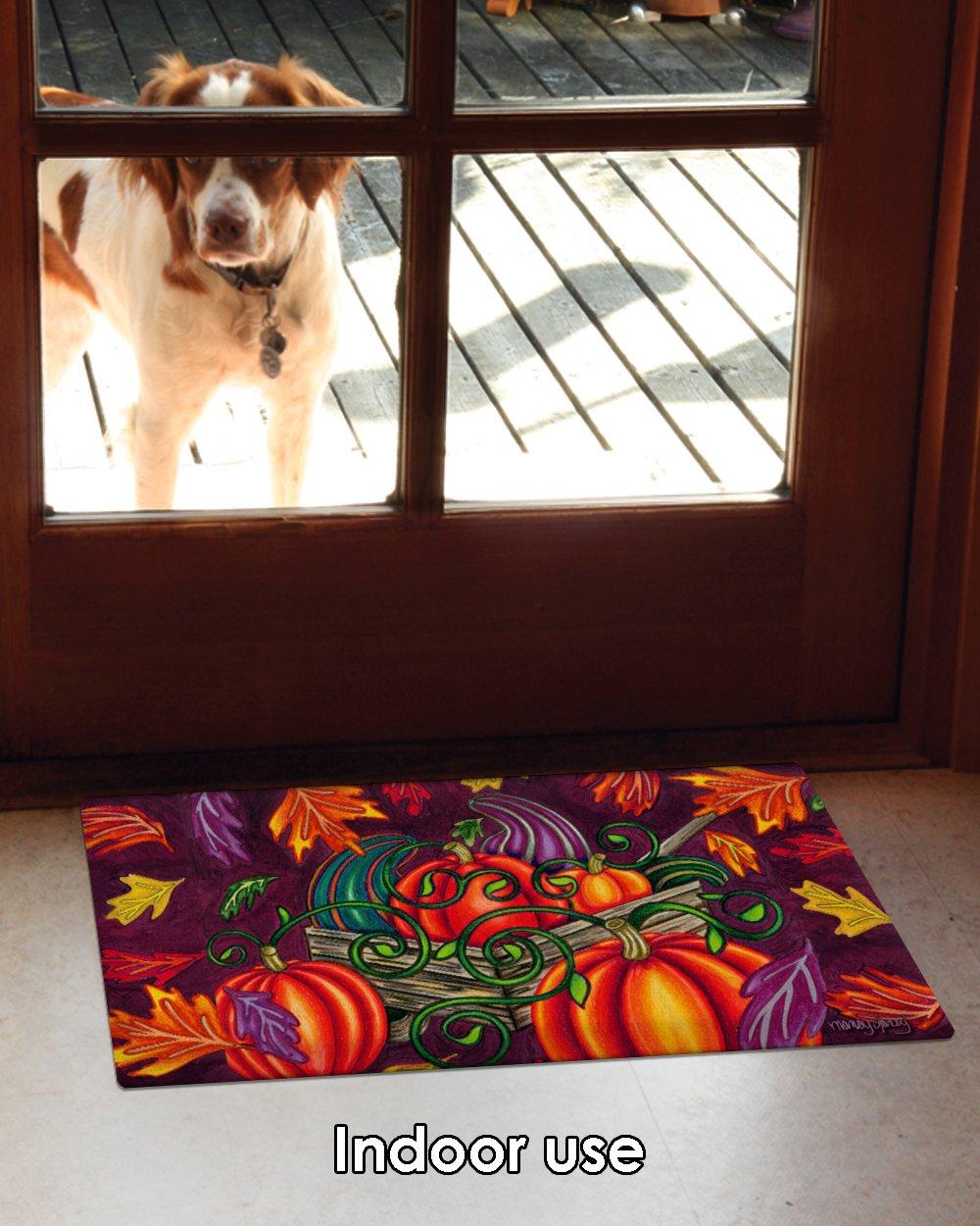 Toland Home Garden 800406 Fall Gourds Doormat 18 x 30 Multicolor
