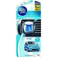 Ambi Pur Car Mini Clip Car Air Freshener Sky Breeze 2mL