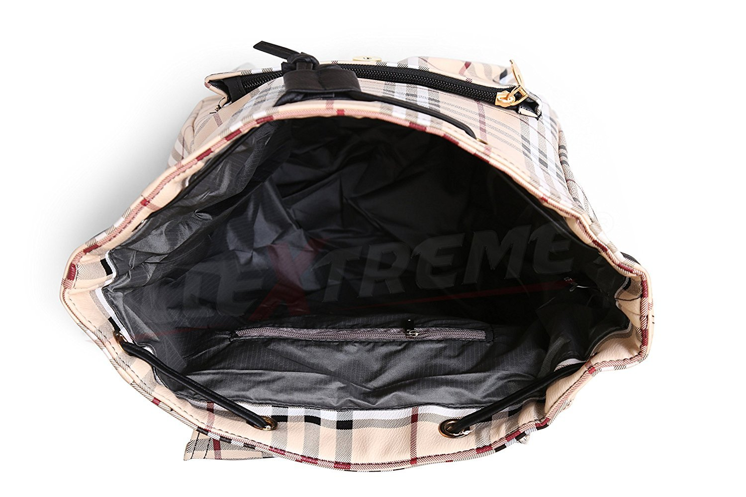 Buy AllExtreme Women s Shoulders Canvas Backpack Outdoor Bag for Ladies  Modern College Girl Backpack d6525a1bcb6f4