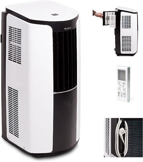 Gree Shiny 12000 BTU GPC12AL-K3NNA1A - Aire Acondicionado portátil,3,5 kW, 1 Pieza, 390 x 820 x 405 mm, Color Blanco: Amazon.es: Bricolaje y herramientas