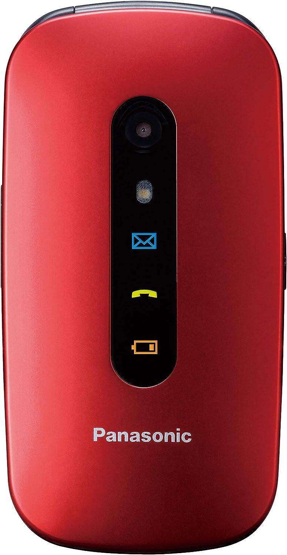 Panasonic TU456 - Teléfono Móvil para Mayores (Pantalla Color TFT 2.4