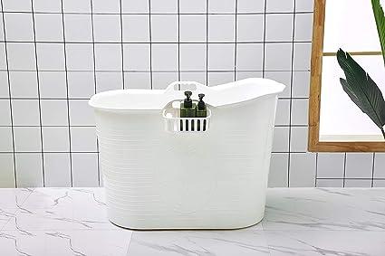 Baignoire mobile idéale pour la petite salle de bain, stylée ...