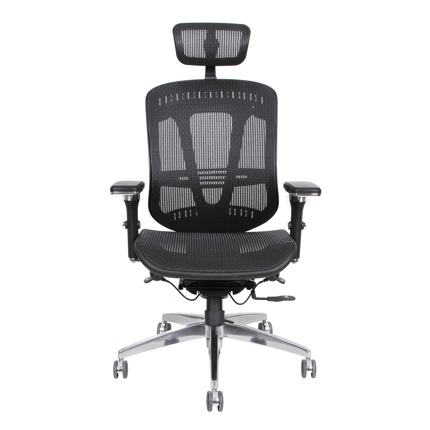 plastic desk chair. Amazon.com: Thornton\u0027s Office Supplies ErgoExec Black Mesh Metal/Plastic Rolling Swivel Height-Adjustable Executive Computer Desk Chair With Plastic