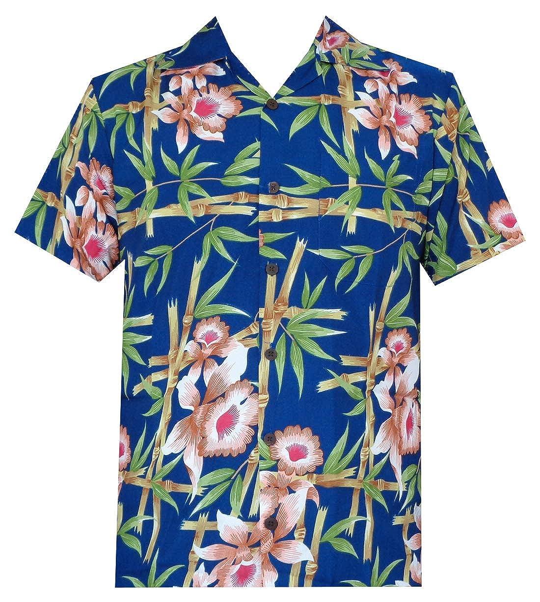 Flamingo Leaf Print Beach Aloha Party Casual Mens Shirt Hawaiian Shirt 37 Mens