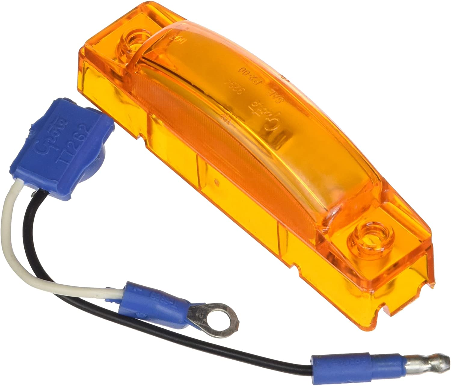 47243 + 66930 Grote 65513 Yellow SuperNova 3 Thin-Line LED Clearance Marker Light