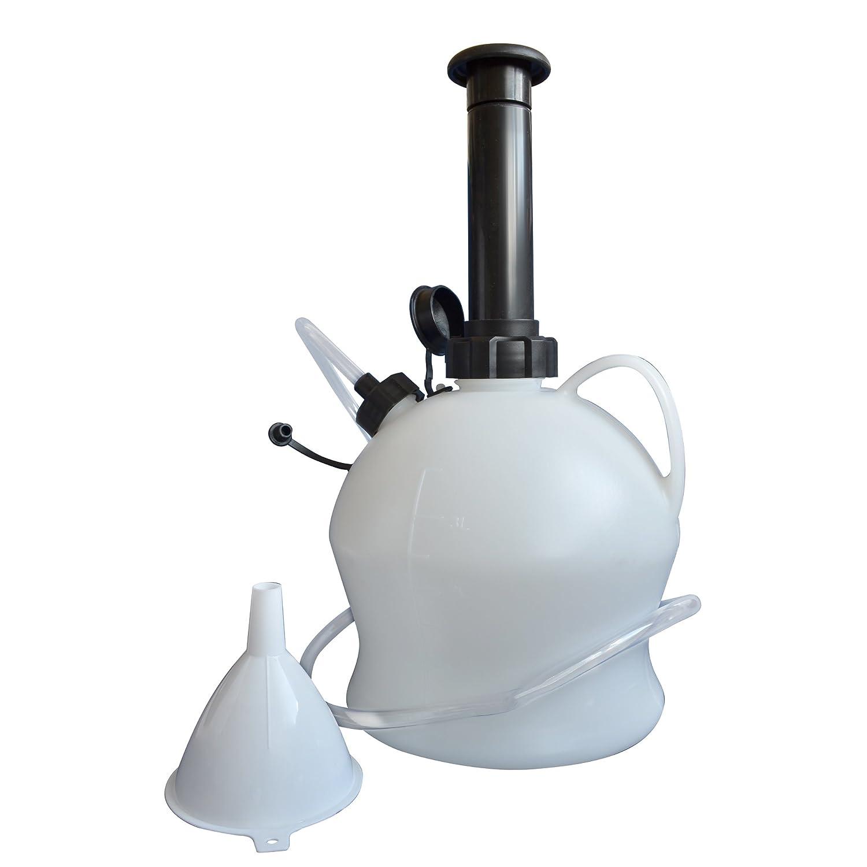 Hyfive Kit de Bomba extractora de Aceite Aceite de Servicio de Coche y Extractor de la Bomba de Transferencia de l�quido 4L
