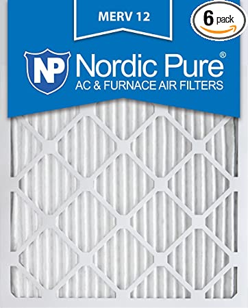 Nordic Pure 20x24x1 MERV 11 Pleated AC Furnace Air Filters 4 Pack