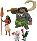 Coffret 4 figurines Vaiana