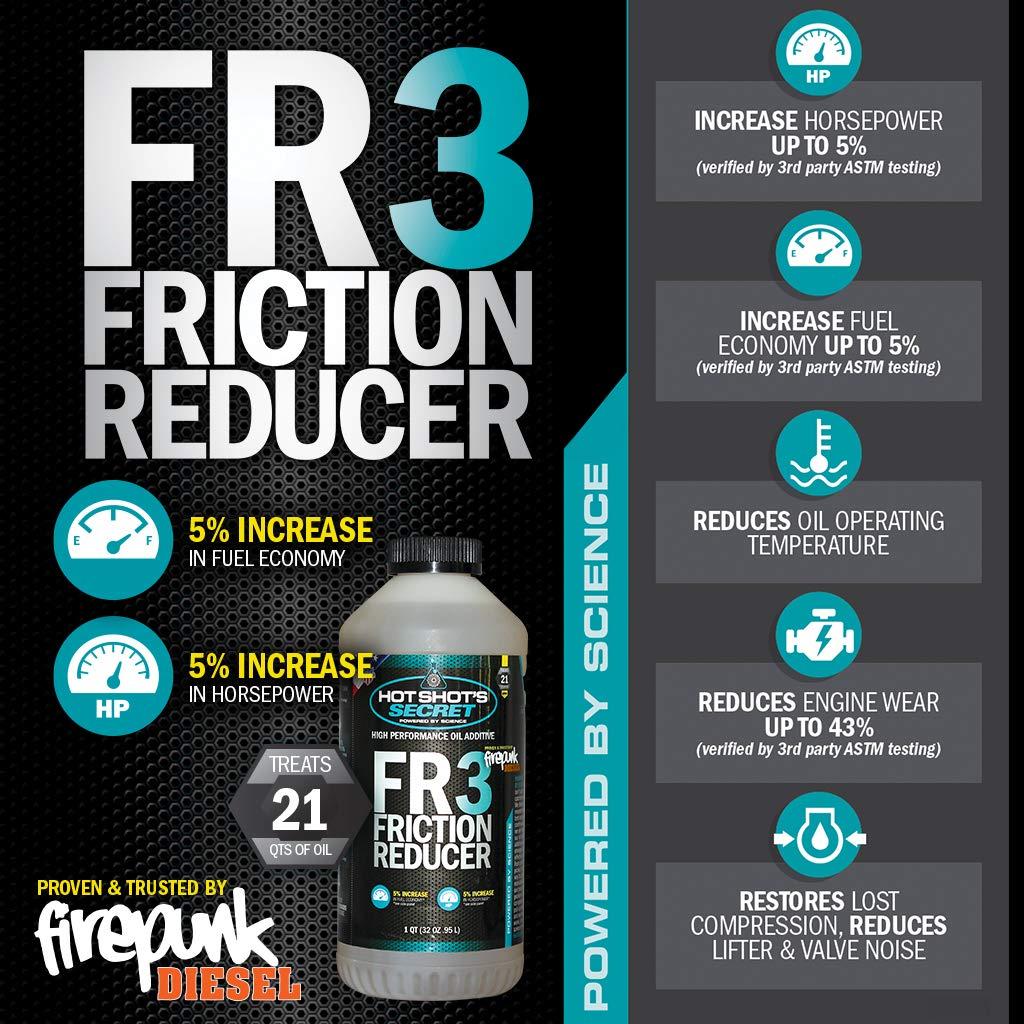 Hot Shot's Secret HSSFR332Z FR3 Friction Reducer, 32  Fluid_Ounces
