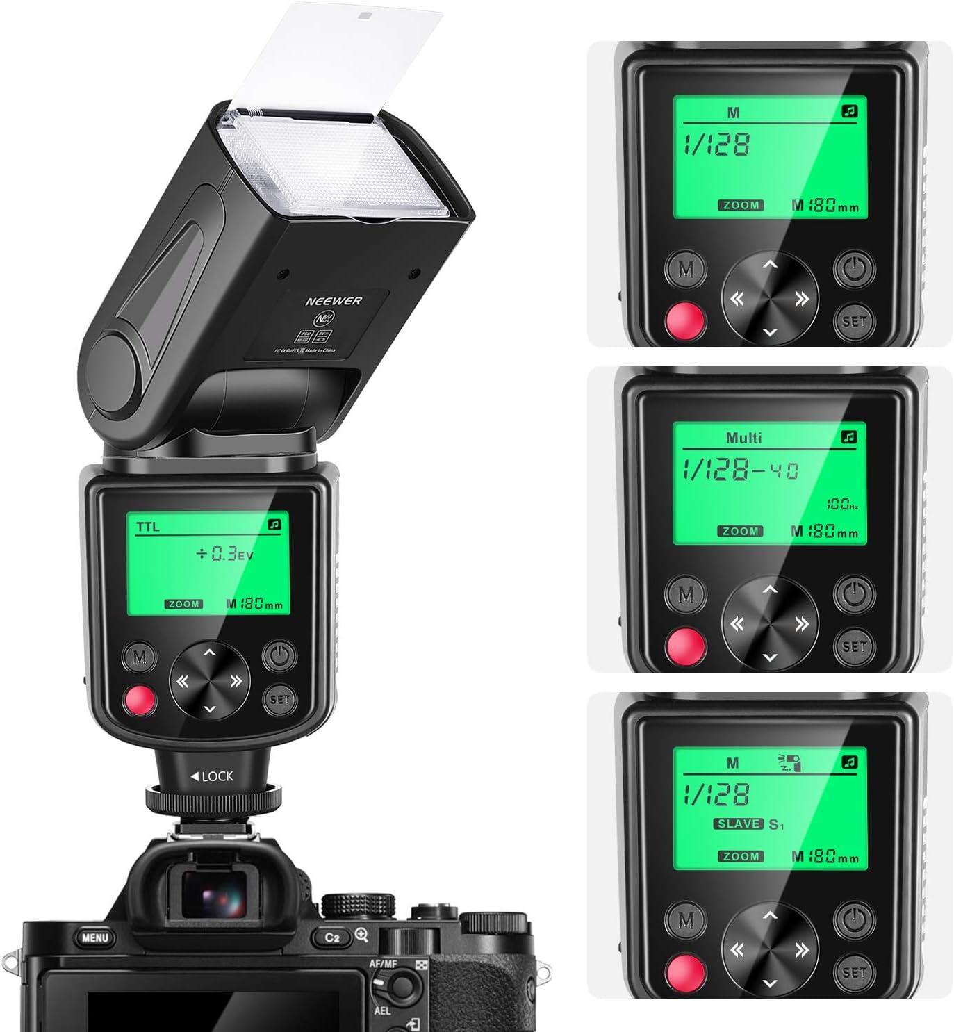 Neewer Nw635 Ttl Gn58 Speedlite Blitz Mit Kamera