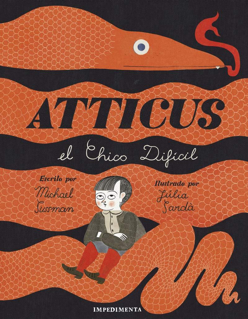 Atticus, el chico difícil. Libros para reglar en Navidad