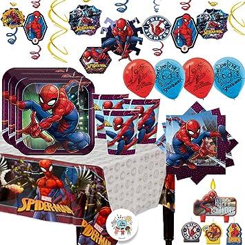 Amazon.com: Spiderman MEGA - Paquete de suministros para ...