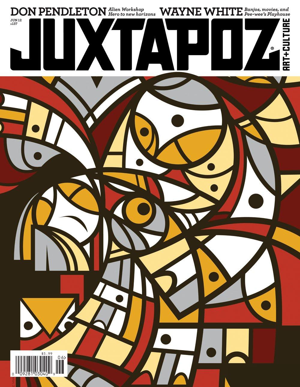 Juxtapoz Magazine #137 June 2012 pdf epub