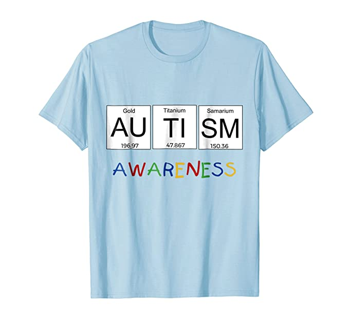 Amazon autism awareness shirt periodic table science shirt mens autism awareness shirt periodic table science shirt 2xl baby blue urtaz Gallery