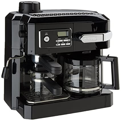 8e330e2dc245 Image Unavailable. Image not available for. Color: DeLonghi BCO320T Combination  Espresso and Drip Coffee- Black