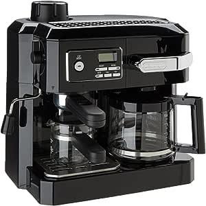 DeLonghi BCO320T Combination Espresso and Drip Coffee- Black