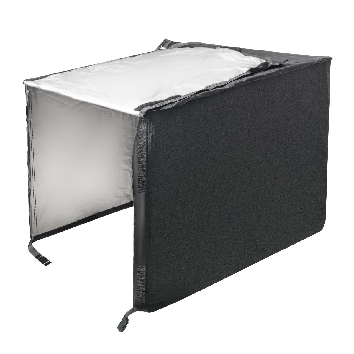Penck Waterproof UV Resistant Universal Generator Cover, 210D Oxford Fabric Black(For generators up to 38''(L) x28(W) x30(H))