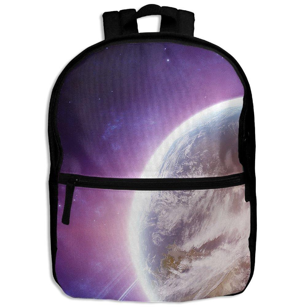 パープルブレーズドSchool BookバックパックShoulder Bag Schoolbag for Girls Boys   B078NLTCSK