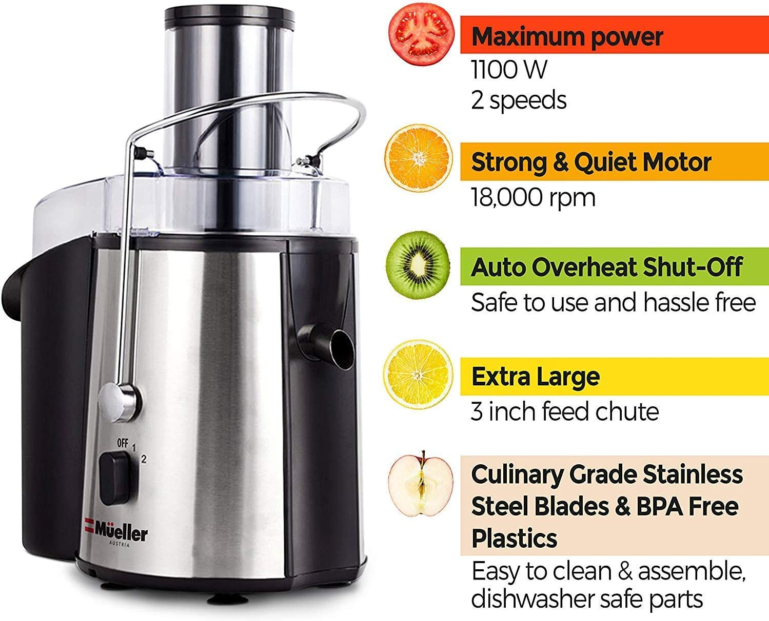 718Tq4x OtL. AC SL1500 The Best Juicers for Celery 2021 - Review & Buyer's Guide