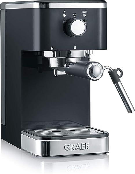 Graef ES402EU Salita 1400 - Cafetera espresso con portafiltros: Amazon.es: Hogar