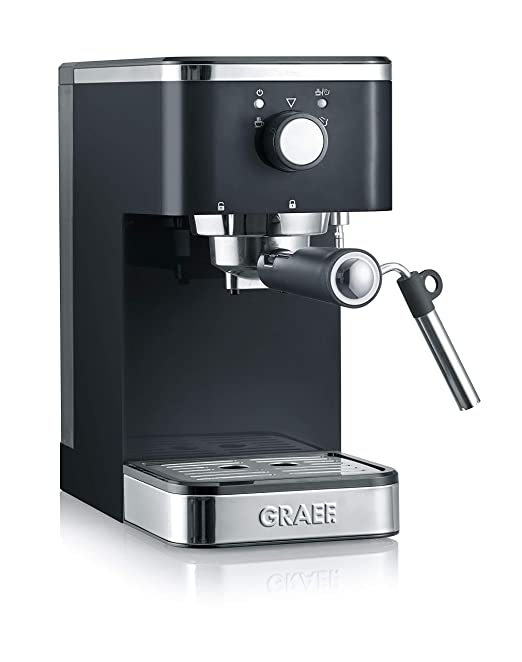 Graef ES402EU Salita 1400 - Cafetera espresso, color negro: Amazon ...