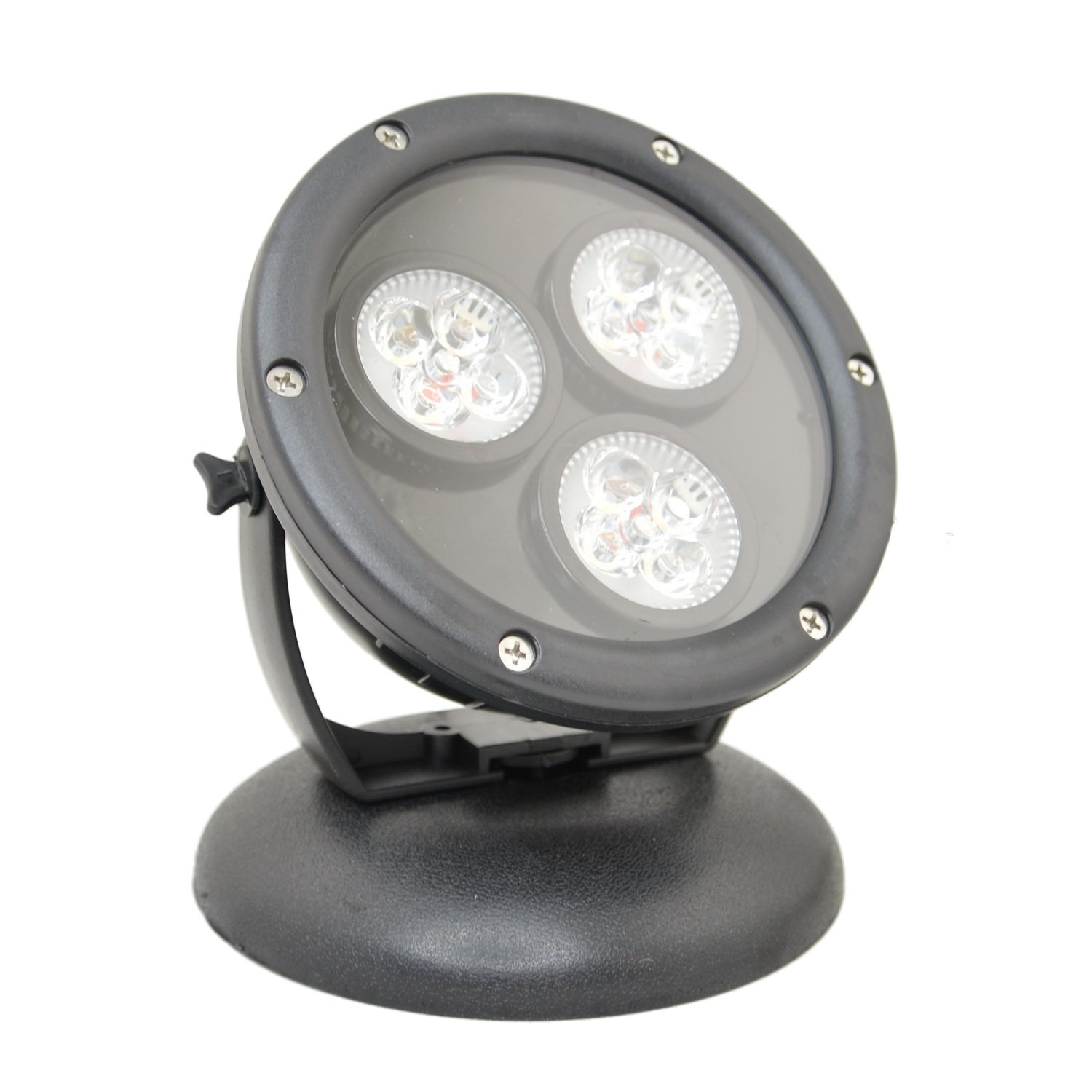 Jebao 12w Submersible LED Spot Light for Landscape Light, Commercial, Home Garden, Tree, Yard, Waterproof, Warm White