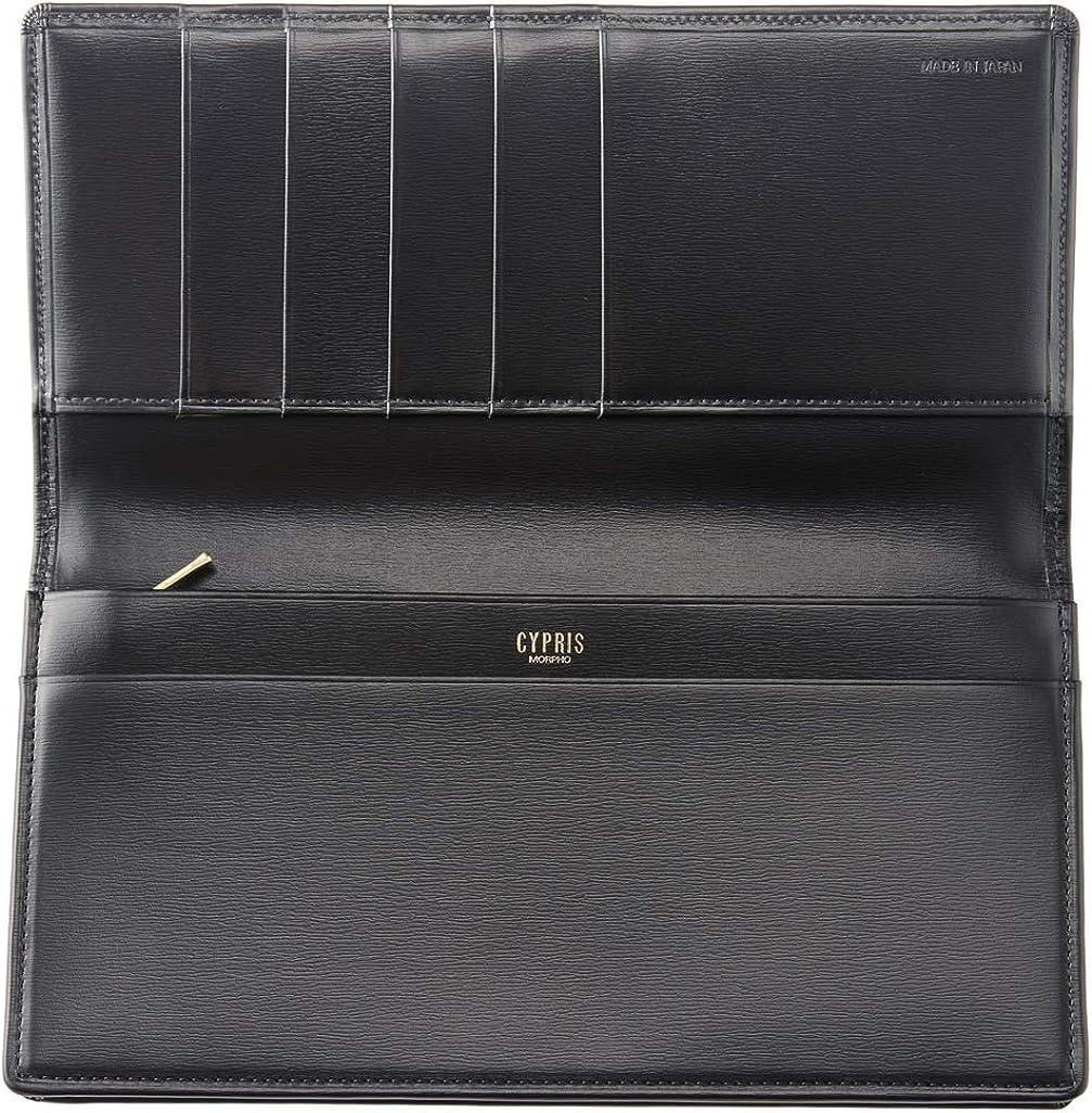 CYPRIS ファスナー付き通しマチ長財布 の内装
