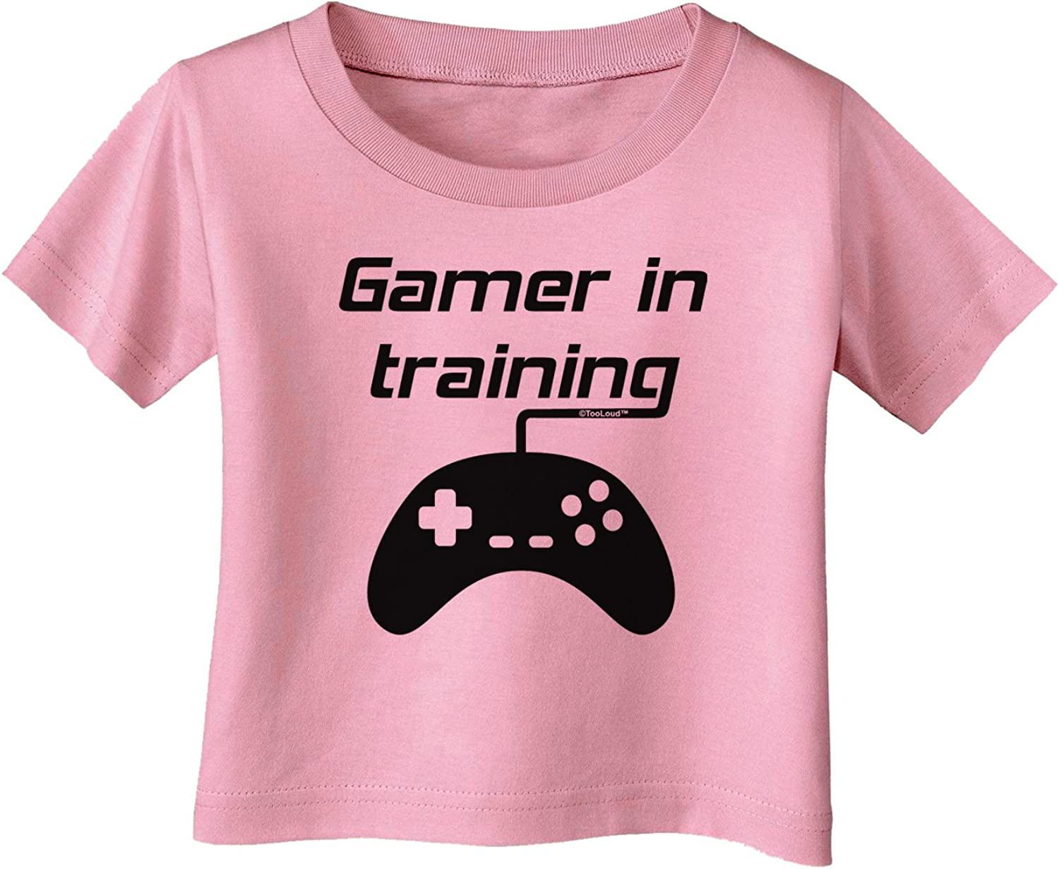 TooLoud Gamer in Training BnW Infant T-Shirt