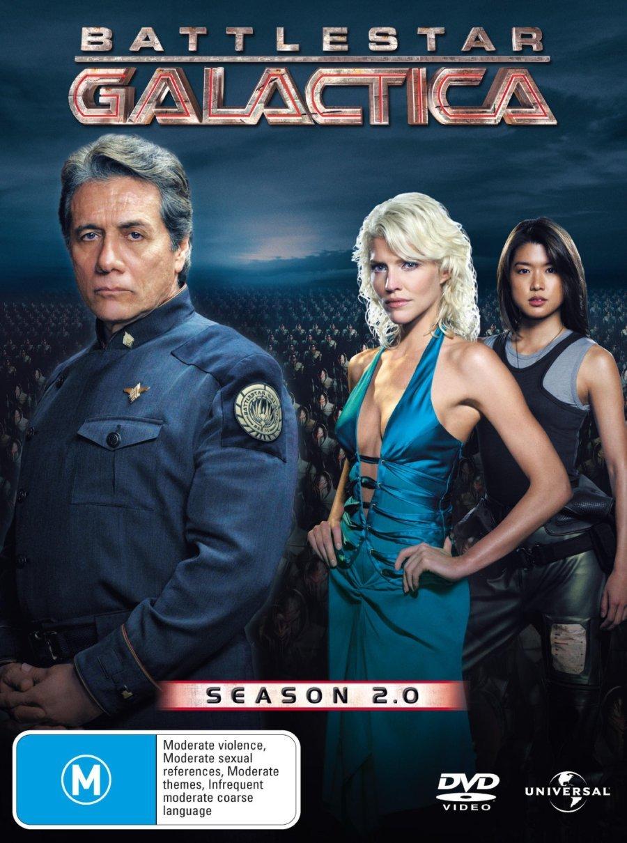 Battlestar Galactica Season 2 DVD [2004 TV Series]