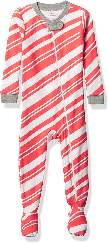 Honest Baby Boys and Girls Organic Cotton 2-Piece Snug Fit Pajama Set