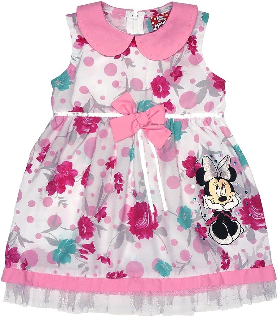 Kinder Mädchen Minnie Prinzessin Tutu Tüll Kleid Geburtstag Partykleid Kleidung