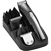 BESTOPE 8-in-1 Hair Clippers Set For Men,Cordless Hair Trimmer Professional Rechargeable Men's Grooming Kit with 5 Guide Combs,Gifts for Dad/Husband/Boyfriend