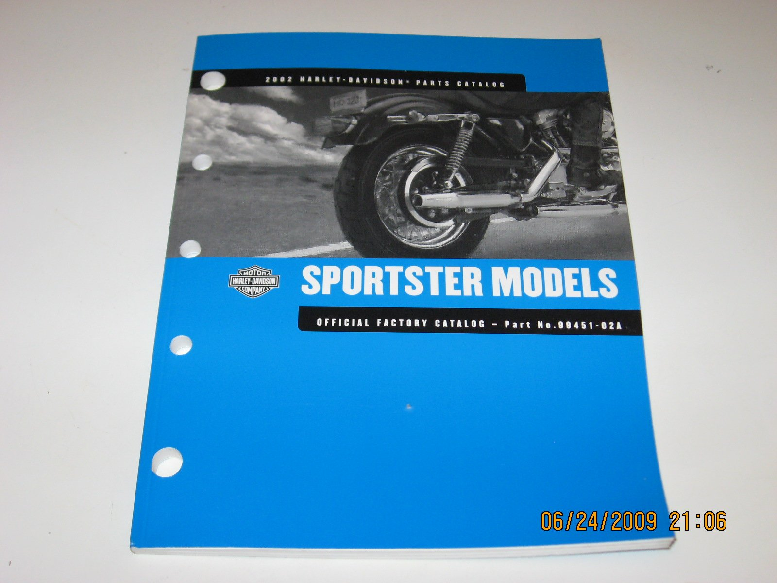 2002 harley-davidson service manual sportster models part No. 99484-02:  Harley-Davidson Motor Company: Amazon.com: Books