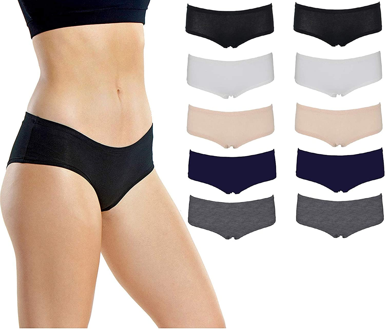 Emprella Women S Boyshort Panties Comfort Pack Ultra Soft Cotton Underwear At Amazon Women S Clothing Store