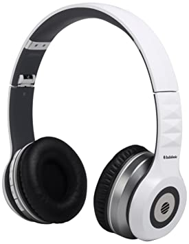 AudioSonic HP-1645 - Auriculares inalámbrico de diadema cerrados con micrófono, blanco: Amazon.es: Hogar