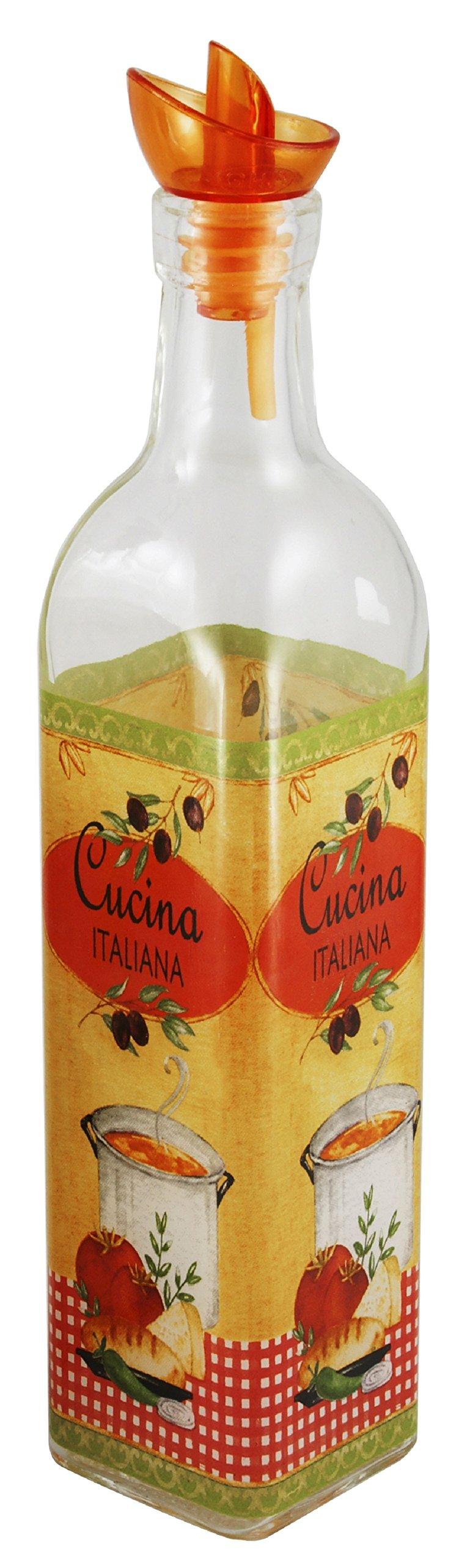 Grant Howard Cucina Italiano Oil and Vinegar Cruet, 16 oz.