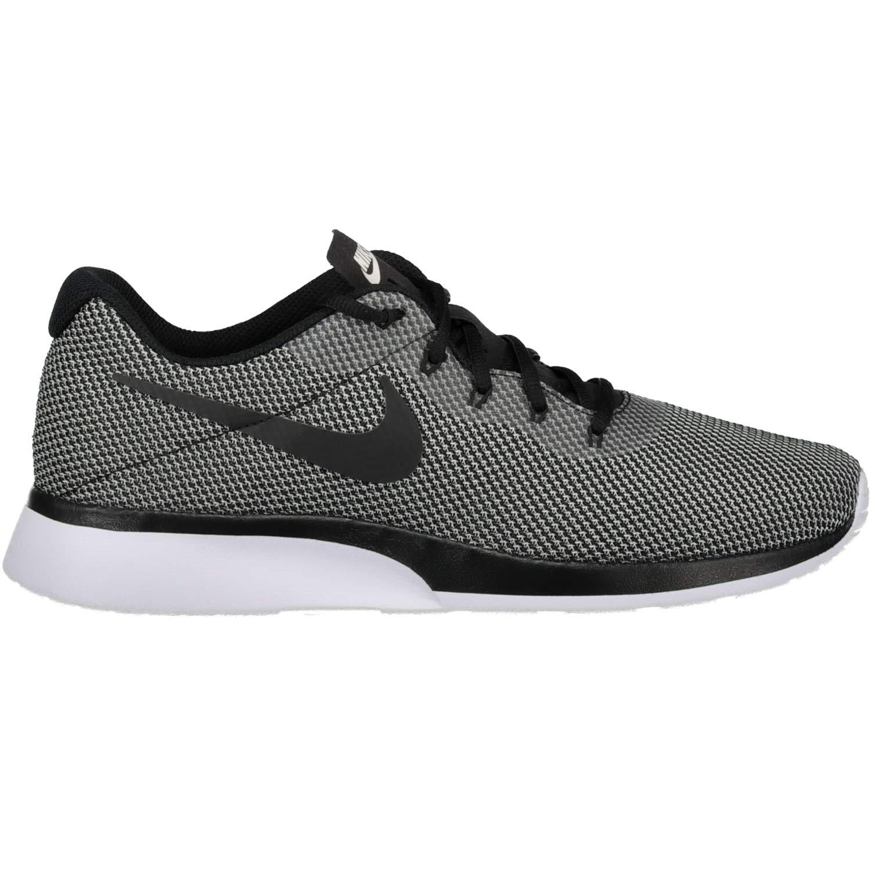 wholesale dealer 0da4e 036b2 Nike Mens Tanjun Racer White Black Cool Grey Size 12