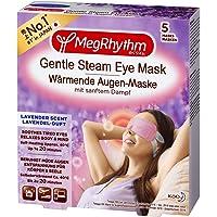MegRhythm Warm Oogmasker - Met Zachte Stoom - Lavendelgeur - 5 Stuks