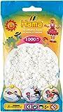 Hama - 207-01 - Loisirs Créatifs - Perles et Bijoux - Sachet 1000 Perles - Blanc
