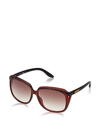 Just Cavalli JC512S gafas de sol, Marrón (Marroon), Talla ...