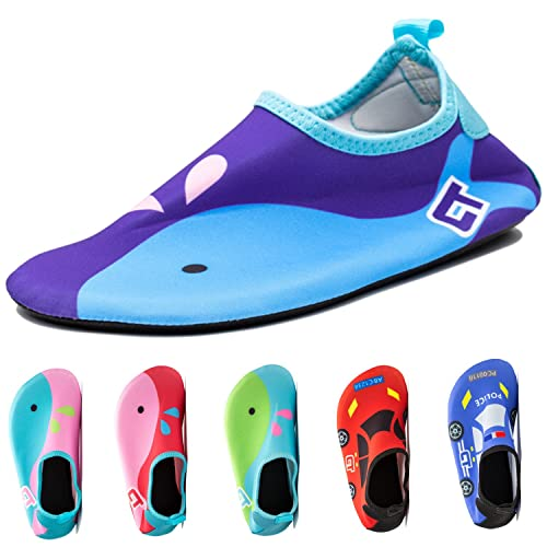 a412583b5ca2 Kids Baby Infant Swim Shoes Water Shoes Beach Shoes Barefoot Aqua Socks for  Beach Pool Surfing