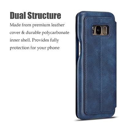 QLTYPRI Case for Samsung Galaxy S8 Plus, Vintage Slim ...